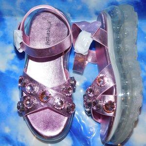 Jeffrey Campbell Quarter Strap Platform Sandals